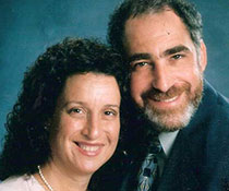 Photo of Ruth and Robert Anolik. Link to their story.