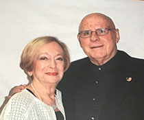 Photo of Gretel and Ernest Posner. Link to their story.