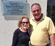 Photo of Anabelle and Mark Fishman. Link to their story.